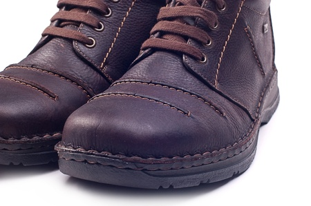 brogues: Leather man