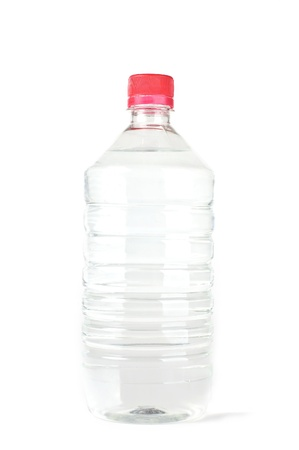 Plastic bottle with pure water on a white background. Stock Photo - 12639428