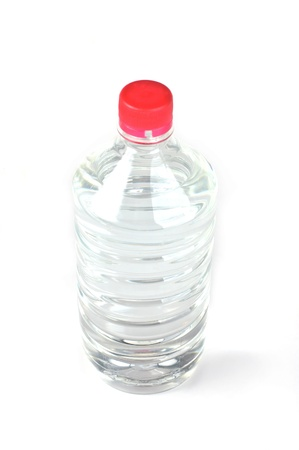 Plastic bottle with pure water on a white background. Stock Photo - 12639429