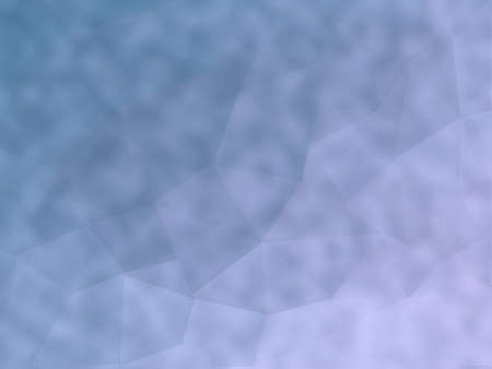 Mauve merged to pale blue abstract background polygon art containing geometric shapes with grunge addition. Stock Photo
