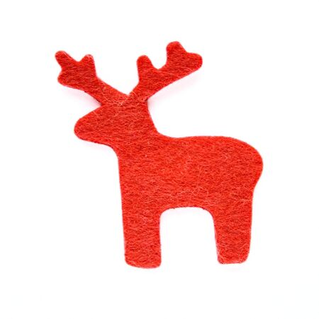 Reindeer at the white background.  Stock Photo - 5948832