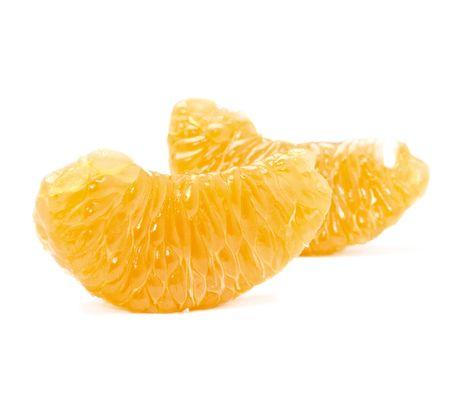 Orange segment isolated on the white background Stock Photo - 6336731