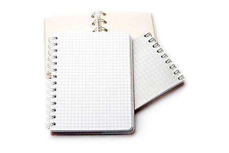 Notebooks isolated on white Stock Photo - 8051492