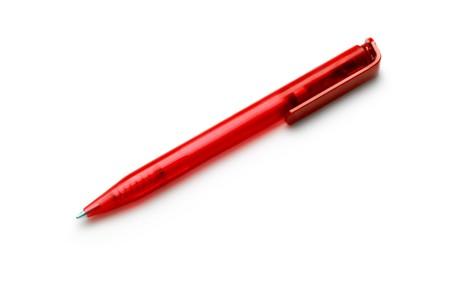 ballpoint pen: Pen isolated on white