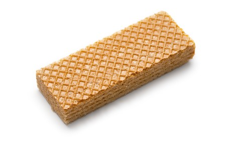 Wafers isolated on white  photo