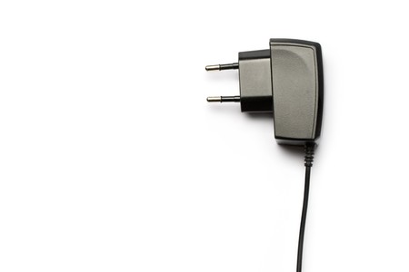 Electric plug isolated on the white background  Stock Photo - 8051988
