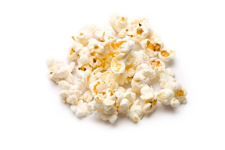 Popcorn isolated on white Stock Photo - 8213138