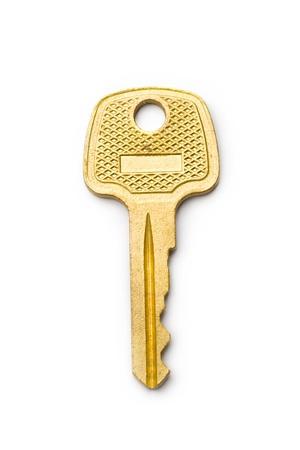 Key isolated on white Stock Photo - 8561125