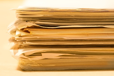 Stack of papers Stock Photo - 8984250