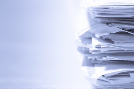 Stack of papers Stock Photo - 8984233