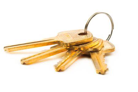 Keys isolated on white background Stock Photo - 9092227