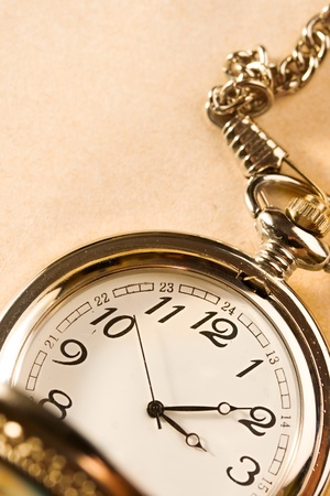 Pocket watch isolated Stock Photo - 9092277