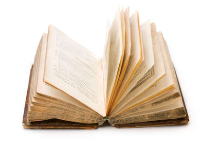 art book: Libro aislada sobre el fondo blanco  Foto de archivo