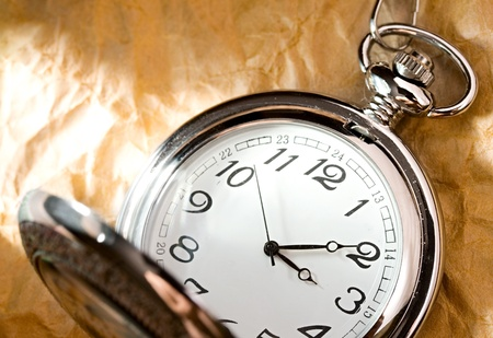 Pocket watch isolated Stock Photo - 9092282