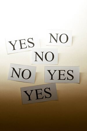 Yes and No photo