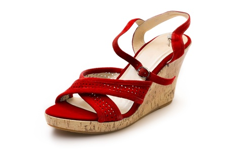 Women shoe isolated on white Stock Photo - 9363136
