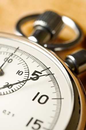 stop watch: Stopwatch on paper background