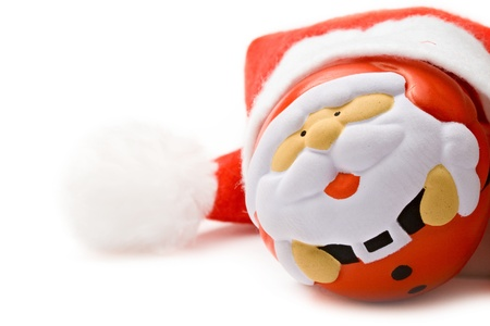 Santa Claus isolated on white background Stock Photo - 10831439