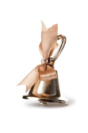 handbell: Handbell isolated on the white background