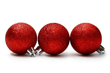 New-Year tree decoration isolated on white