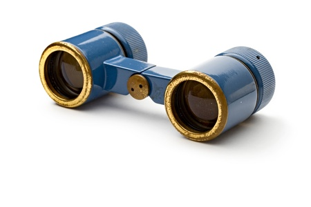 Binoculars isolated on white  Stock Photo - 11080729