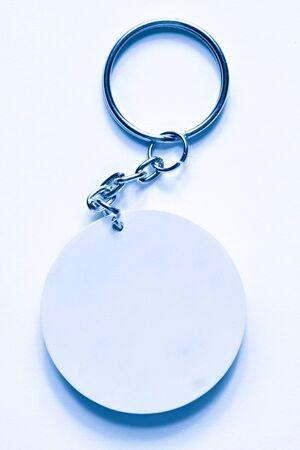 Key ring on a white background  photo