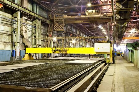 Workshop of mañhinery plant Stock Photo - 11748573