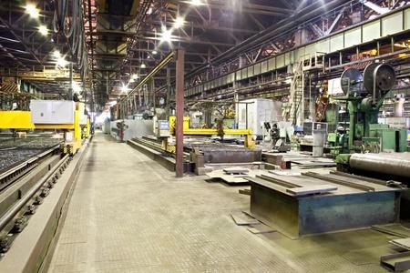 maquinaria: Taller de la planta de hinery
