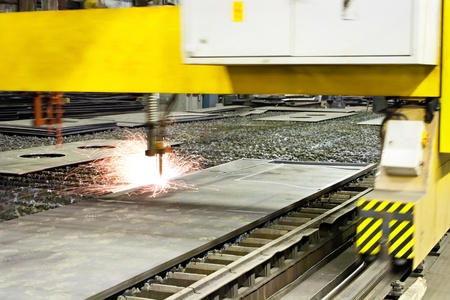 Plasma arc cutting Stock Photo - 11759978