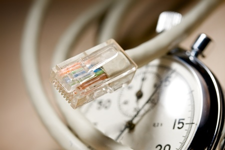 cable and stopwatch photo