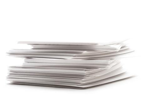 Stapel papieren kaarten