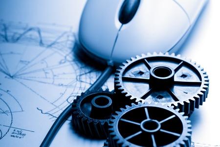 Cricchetti meccanici, redazione e mouse