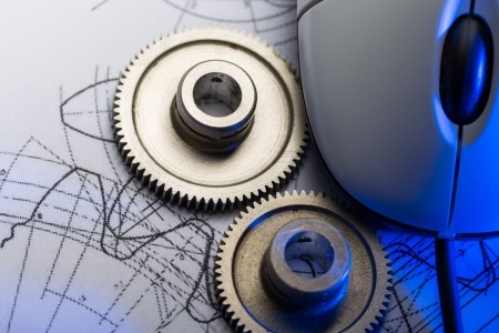 mechanical mouse: Mechanical ratchets, drafting and mouse