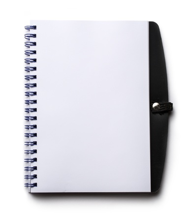 Notepad on the white background Stock Photo - 14933371