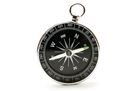 Compass on the white background Stock Photo - 14933594