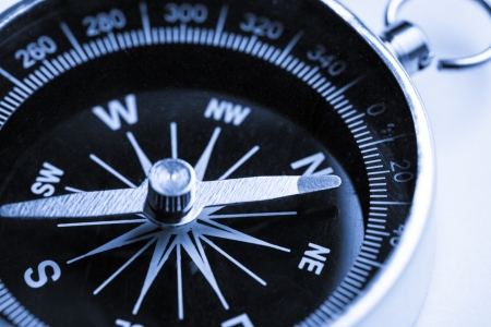 Compass on the white background Stock Photo - 15425436