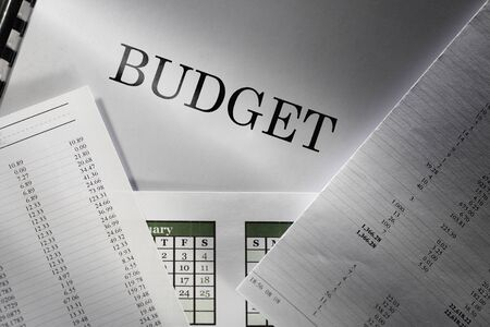 Operating budget and calendar Stock Photo - 17621330