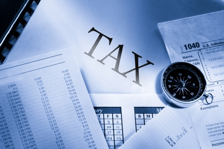 tax law: Operating budget, calendar, compass and tax