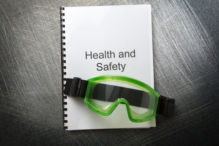 eyeshield: Health and safety register with goggles