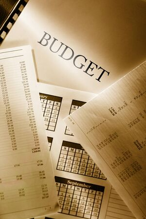 Operating budget and calendar photo
