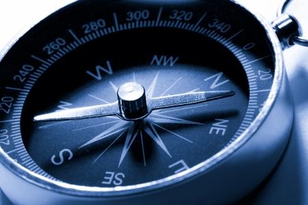 Compass in blaue Tönung Farbe
