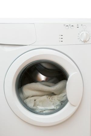 clothes washer: Ropa blanca lavadora