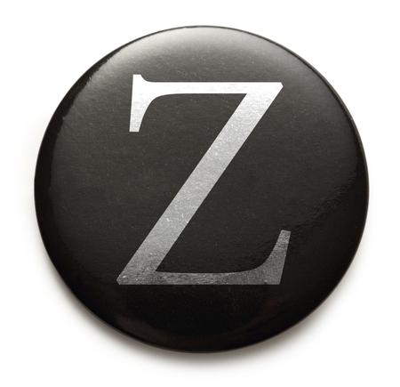 Single capital latin letter Z