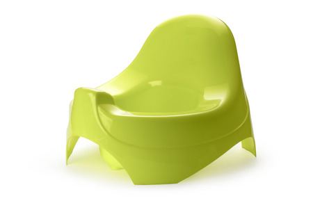 chamber: Toilet training chamber pot for small children Stock Photo
