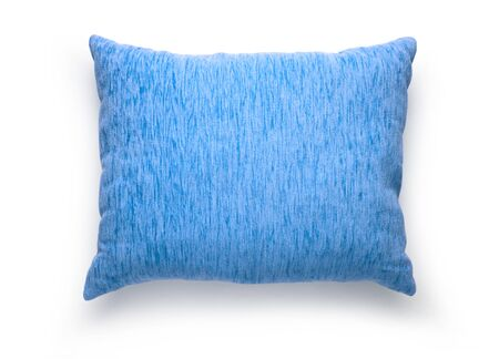 One soft pillow on the white background