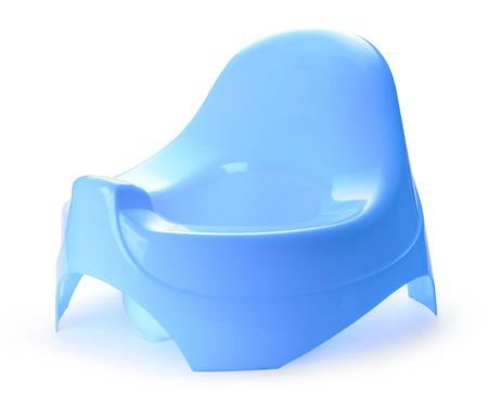 chamber pot: Toilet training chamber pot for small children Stock Photo