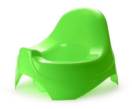 piss: Toilet training chamber pot for small children Stock Photo
