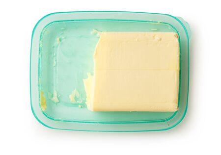 lactic: Fresh butter on the open green butterdish
