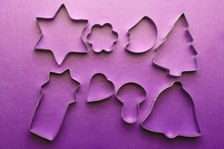 cake decorating: Cooking cutter for cake decorating in different forms