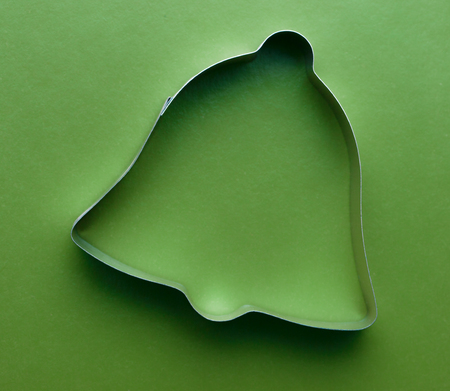 cake decorating: Cooking cutter for cake decorating in bell forms